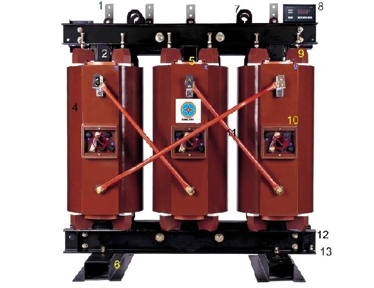 Giới thiệu về máy biến áp khô
